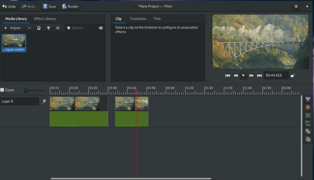 Pitivi un editor de videos