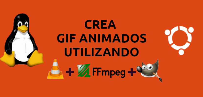 about gif animados con vlc, ffmpeg y gimp