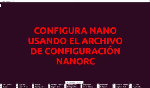 about nanorc