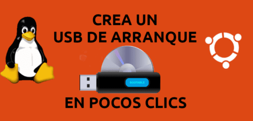 about crear usb de arranque