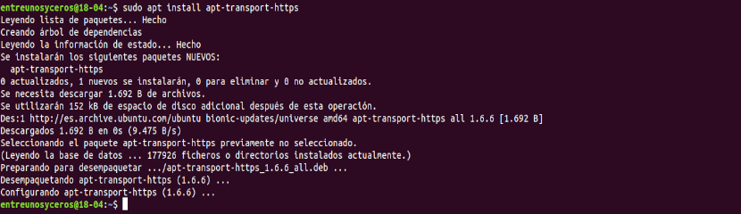 instalar apt-transport-https