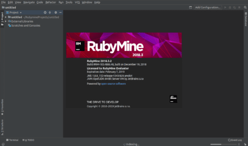 about rubymine