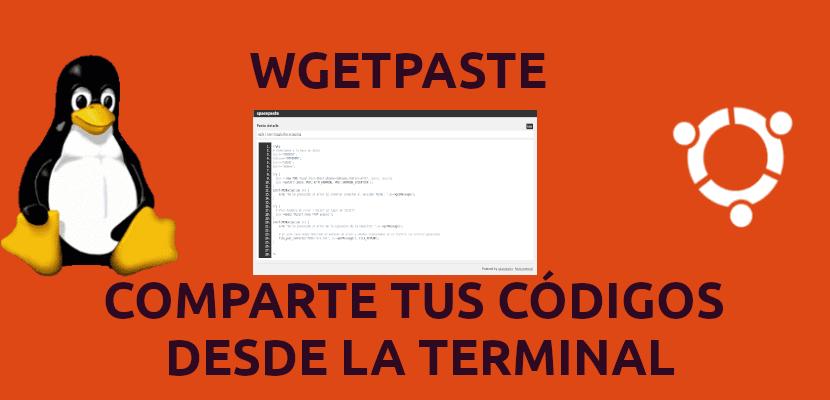 wgetpaste comparte tus códigos desde la terminal