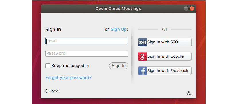 Cuentas de acceso de Zoom