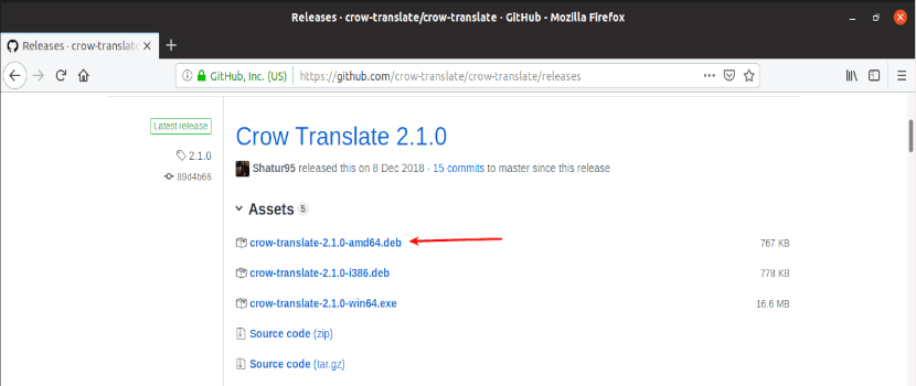 descarga de Crow Translate