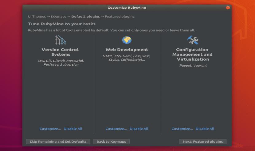 Funciones add RubyMine