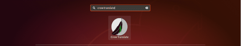lanzador Crow Translate