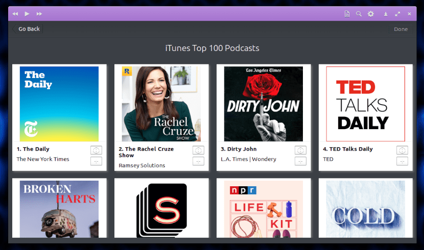 Top podcast itunes Vocal
