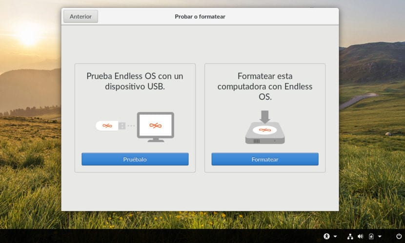 Instalación de Endless OS 2