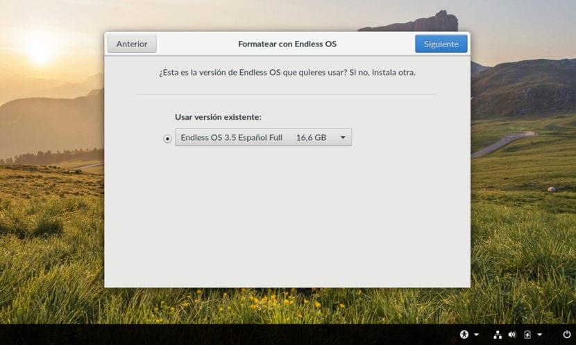 Instalación de Endless OS 3