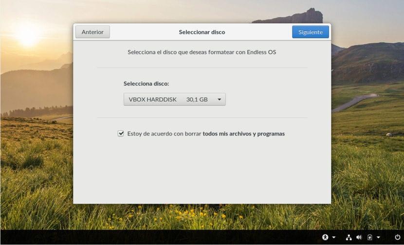 Instalación de Endless OS 4