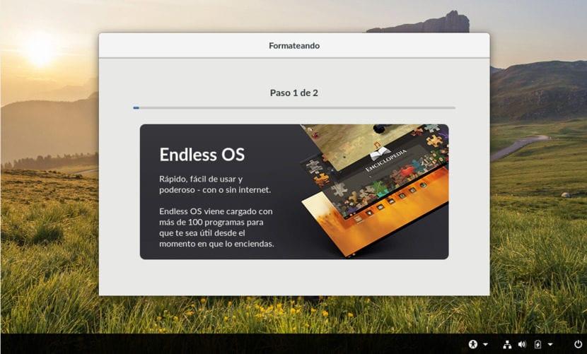 Instalación de Endless OS 5