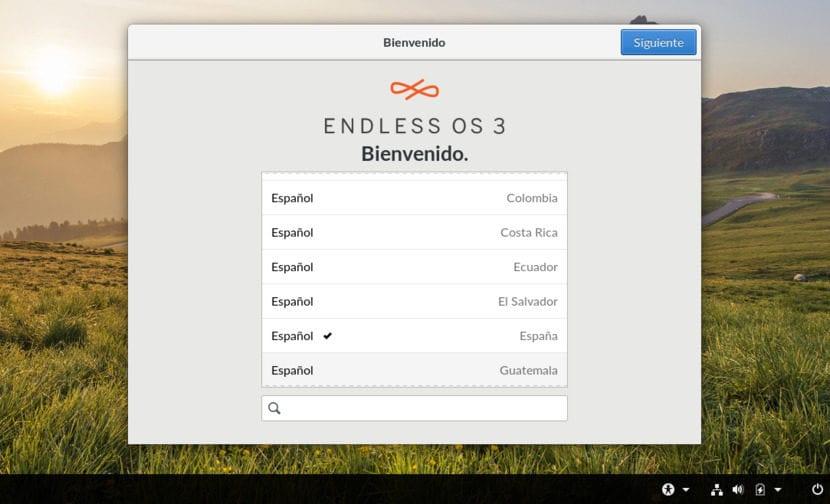 Instalación de Endless OS 7