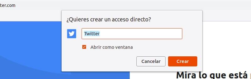 Crear Twitter Lite