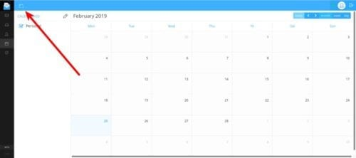 Añadir evento al calendario de OpenMailBox