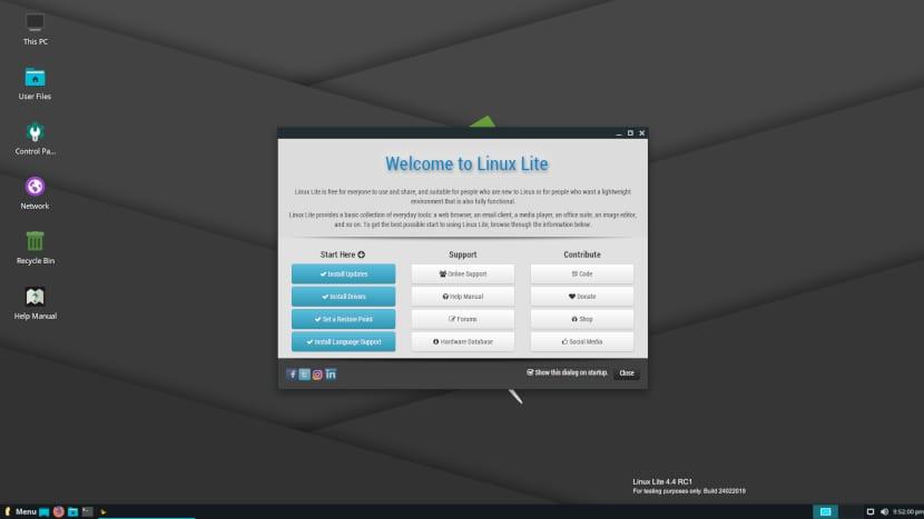 Linux Lite 4.4 RC1