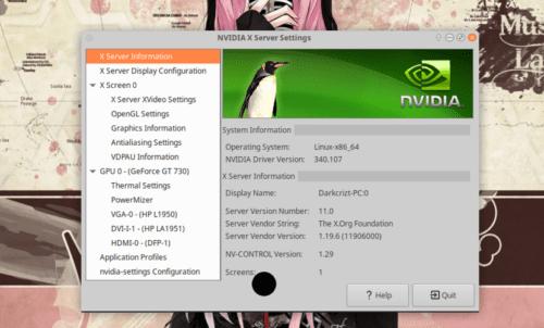 Nvidia Ubuntu 18.10