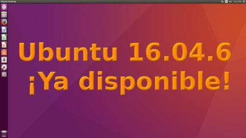 Ubuntu 16.04.6 ya disponible