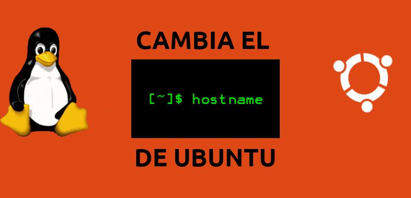 about cambiar el nombde de host en Ubuntu