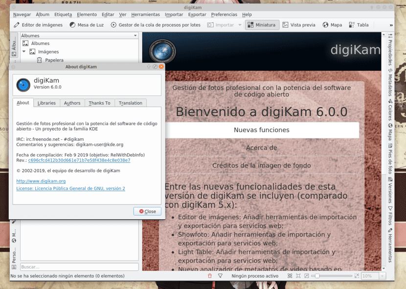 digiKam 6.0.0