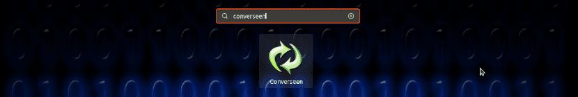 Lanzador Converseen en Ubuntu