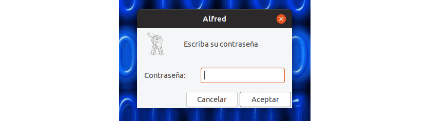 password alfred