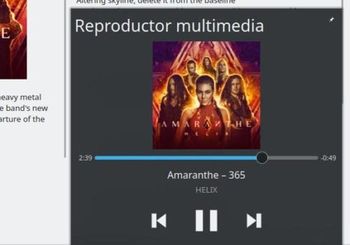 Mini-Reproductor de Cantata