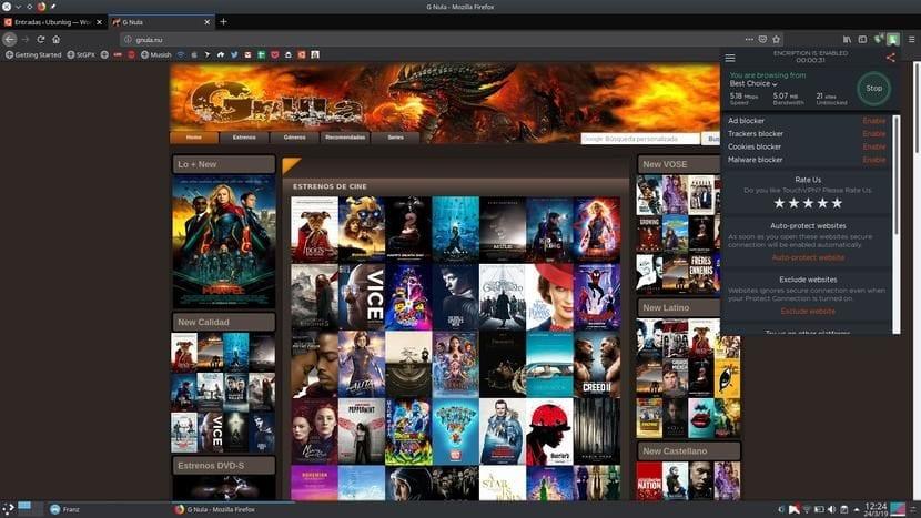 Touch VPN en Firefox