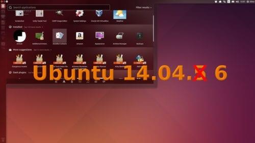 Ubuntu 14.04.6