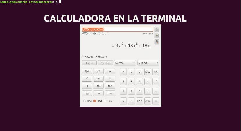 About calculadora en la terminal