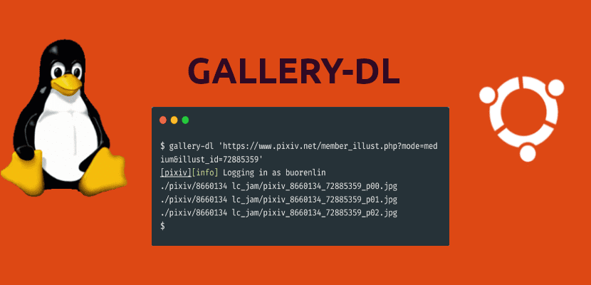 about gallery-dl
