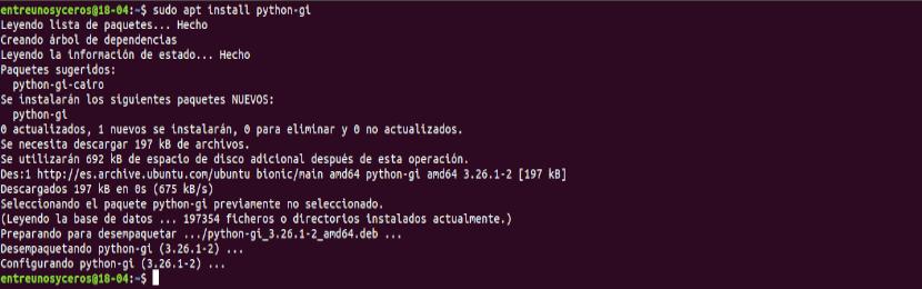 instalar python-gi