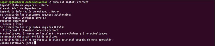 Instalar rTorrent