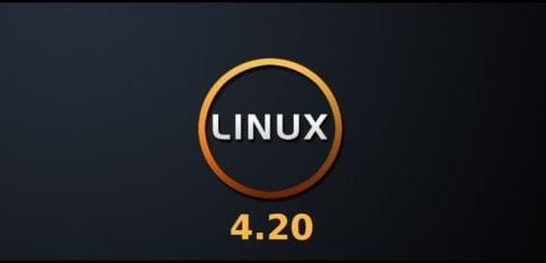 Linux Kernel 4.20