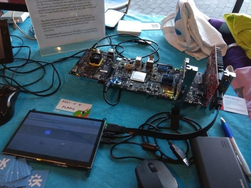 Plasma Mobile en RISC-V