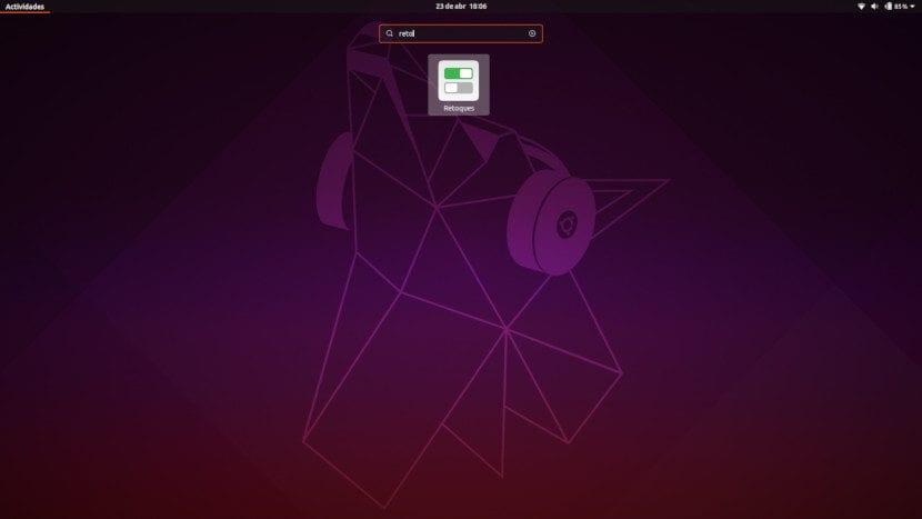 Retoques en Ubuntu