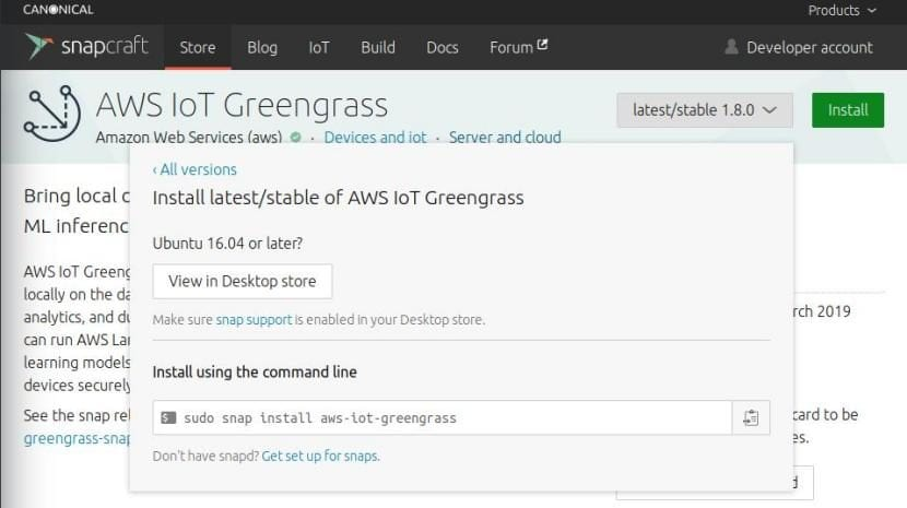 Instalar AWS IoT Greengrass