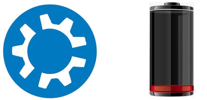 Kubuntu bateria baja