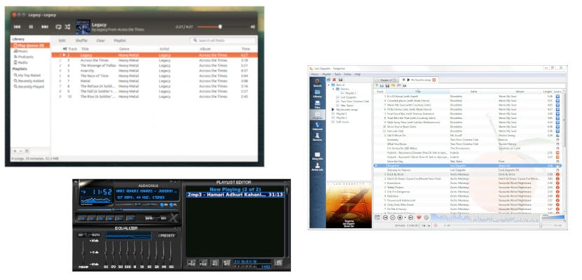 Reproductores de música Linux