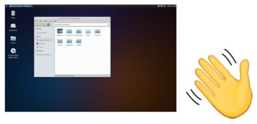 Ubuntu Studio 16.04 se despide