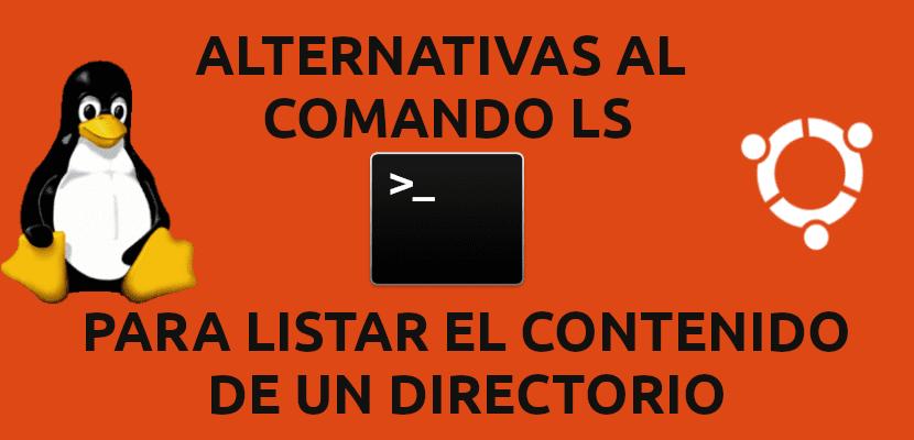 about alternativas al comando ls