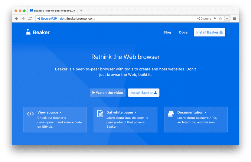 beaker browser