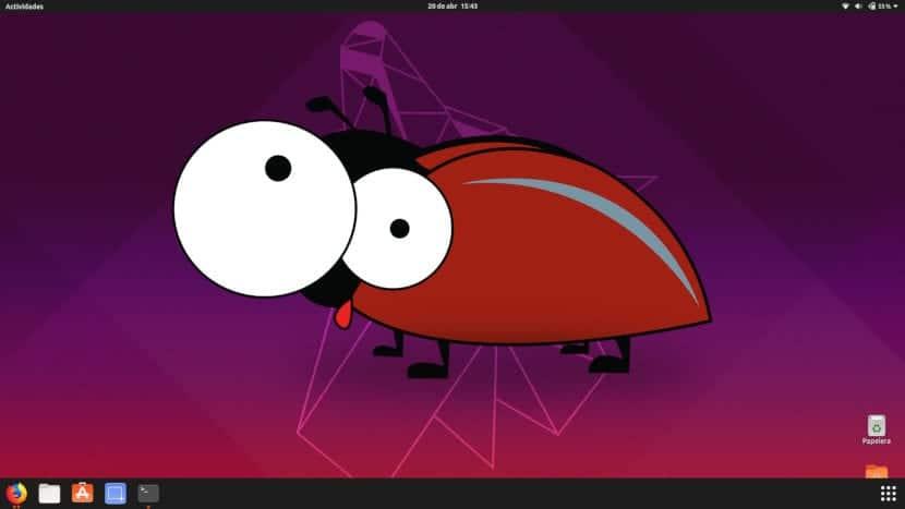 bug en ubuntu 19.04