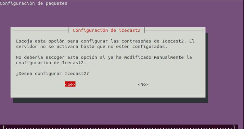 configurar icecast2