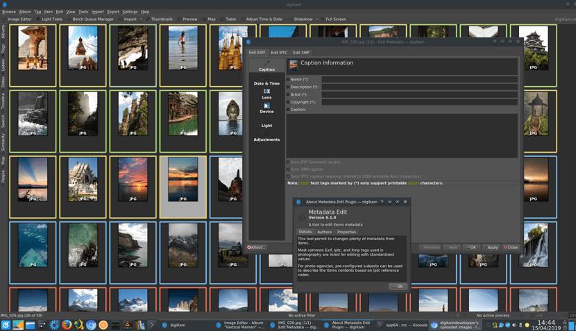 Llega digiKam 6.1.0 con nueva interfaz de desarrollo y más