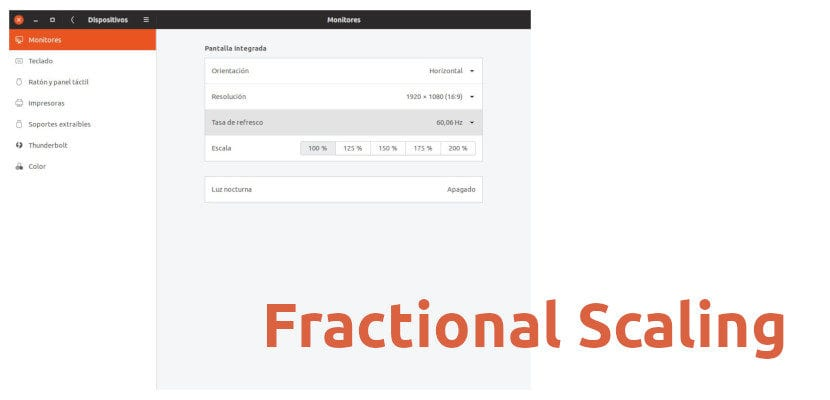 escala fraccional