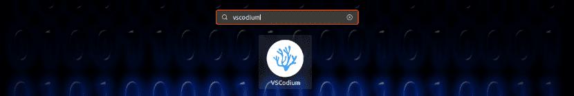 lanzador del editor VSCodium