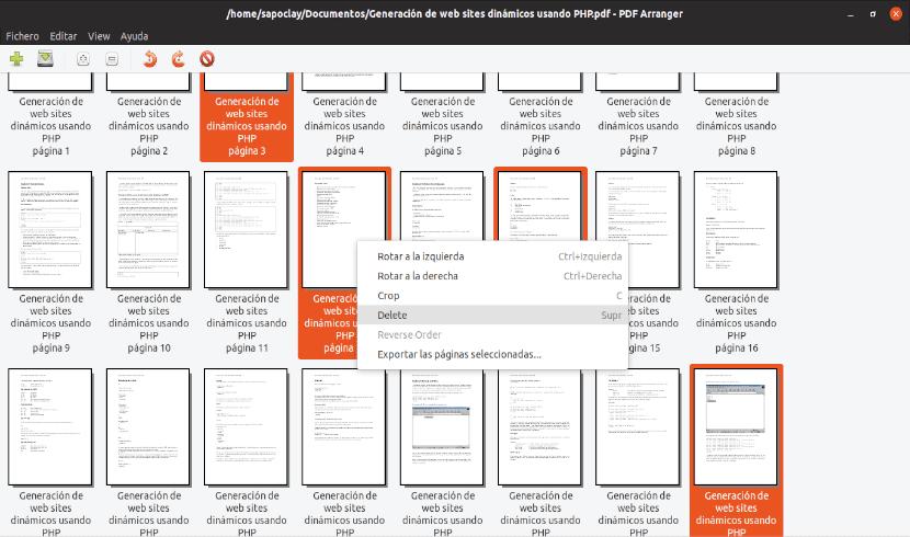 editar páginas pdf