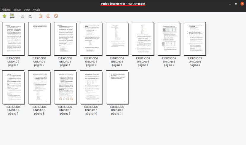 abriendo varios documentos pdf