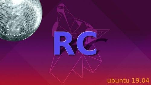 Ubuntu 19.04 RC